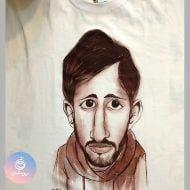 کاریکاتور روی تی شرت ۱