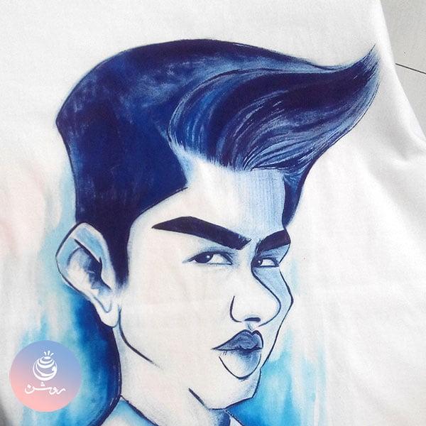 کاریکاتور تی شرت هدیه تولد