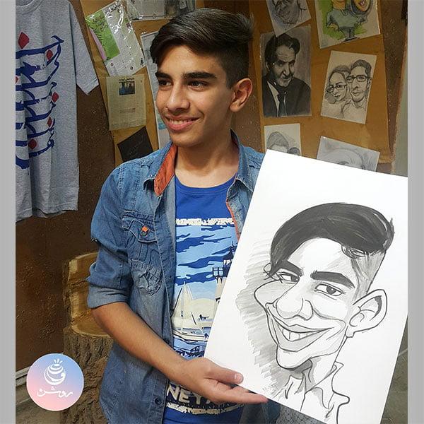 کاریکاتور چهره سفارشی