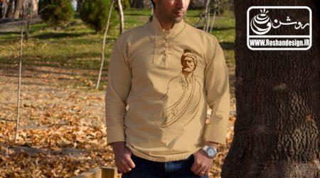 پیراهن ایرانی طرح فردوسی