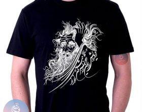 تی شرت ایرانی درویش – شعر حافظ