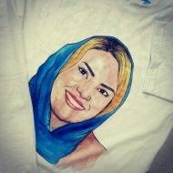 طراحی چهره روی تی شرت (۸)