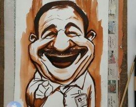 فیلم آموزش کاریکاتور – طراحی روشن | سفارش کاریکاتور و نقاشی چهره