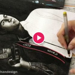 drawing portrait - roshandesign