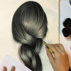 طراحی مو طبیعی