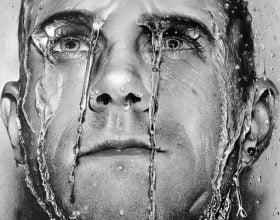 نقاشی هایپررئال چهره با مداد