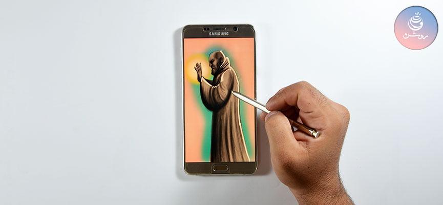 نقاشی با موبایل