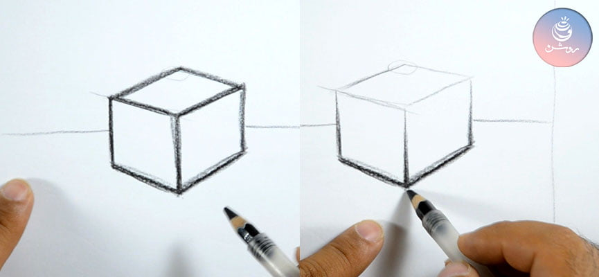 مبانی طراحی۲ - خط در طراحی