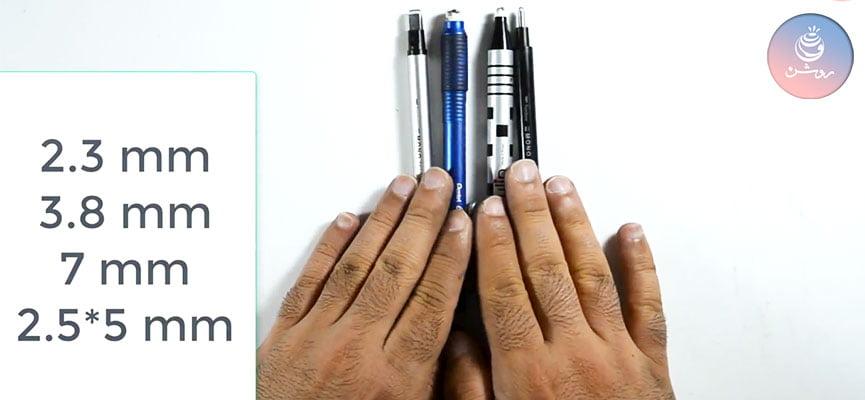 پاک کن مخصوص سیاه قلم ، نقاشی چهره، مداد رنگی و...