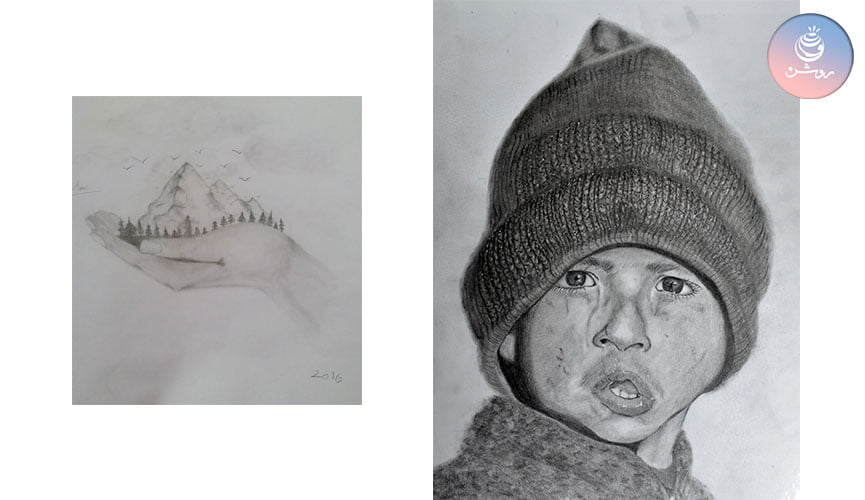 گزارش و نتایج نمایشگاه نقاشی چشم چشم دو ابرو