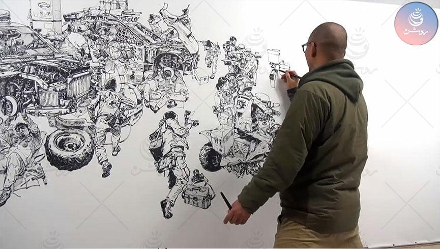 آموزش نقاشی حرفه ای ؛ از چه سنی، چه مدت و چطور انجام میشود ؟