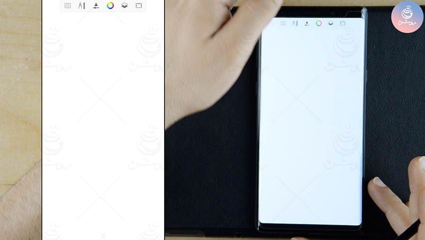 آموزش نقاشی دیجیتال با برنامه Sketchbook و گوشی نوت سامسونگ