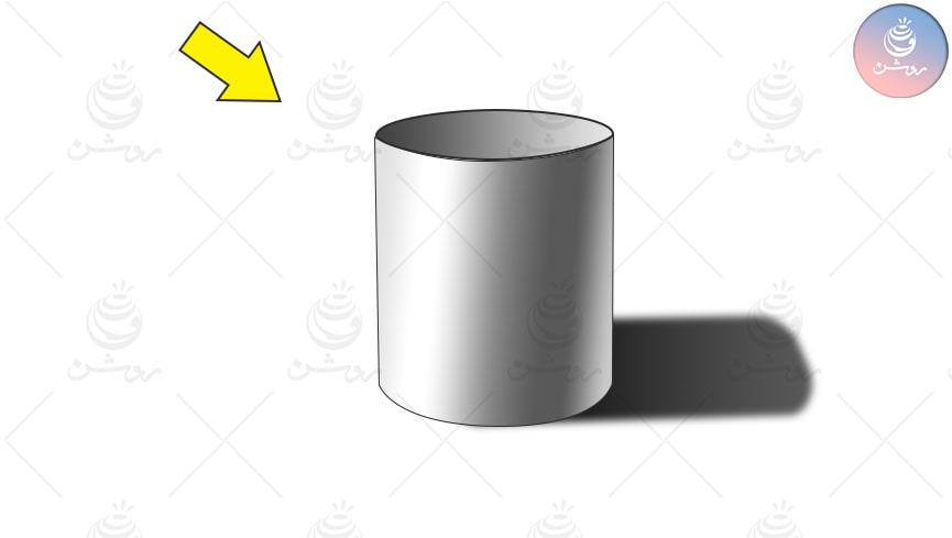 آموزش طراحی استوانه و سایه زدن استوانه با مداد - مبانی طراحی ۱۰؛ ادامه طراحی از احجام هندسی
