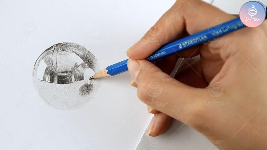 چگونه طراحی اشیا فلزی مات و براق را خیلی ساده انجام دهیم؟