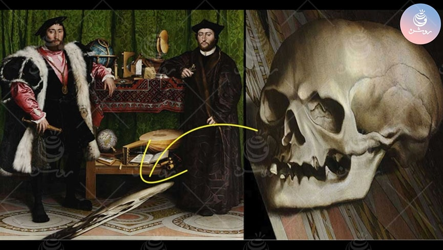 واریخت سازی یا آنامورفوسیس در نقاشی چیست؟