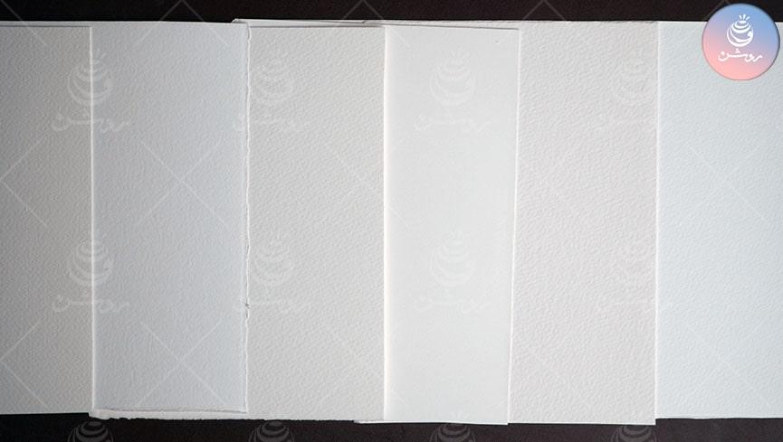 انواع کاغذ آبرنگ و انتخاب کاغذ مناسب برای نقاشی آبرنگ